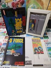 Super Nintendo SNES:D-Force [TOP ASMIK & 1ERE EDITION] COMPLET - US