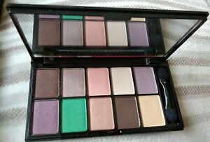 NYX For Eye Color brown  eyeshadow palette brand new