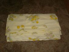 duvet cover yellow floral flowers sheets