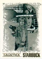 The Complete Battlestar Galactica Matt Busch Artifex Card N2 Starbuck