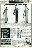 1940 Print Ad of Wilson Golf Bags & Head Covers Beckley-Ralston Clubs Burke Sets