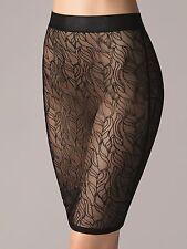 Wolford Leafage Skirt • S • black … perfekter Rock für darunter und darüber