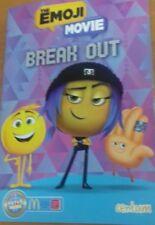 Emoji Movie Book Break Out New for Macdonalds Books children's