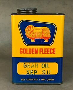 Golden Fleece One Quart Motor Oil Tin