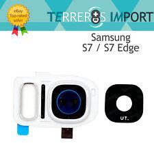 Lente Blanco Embellecedor Camara Trasera para Samsung Galaxy S7/Edge G930F G935F