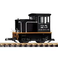 PIKO D&RGW GE-25Ton Industrial Diesel Locomotive G Gauge 38500