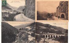 Lot 4 cartes postales anciennes JURA MOREZ 3