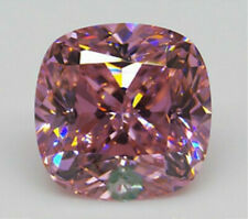 UNHEATED 11.43CT PINK SAPPHIRE 12MM CUSHION SHAPE AAAAA VVS COLOR LOOSE GEMSTONE