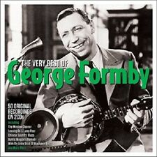 The Very Best of George Formby CD 50 O0riginal Recordings on 2 CDs