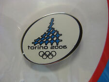 Torino 2006 Olympic Pin-white small oval