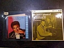 LIBERACE - PIANO SONG BOOK OF MOVIE THEMES / MAGIC PIANOS 2x CORAL UK LP
