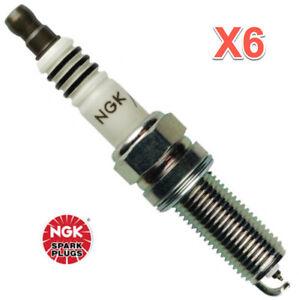 6 Spark Plugs NGK 93911 LKR7AIX Iridium IX Upgrade