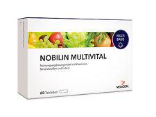 Medicom Nobilin Multivital 60 Tabletten Abwehrkräfte stärken (0,15€/Tablette)