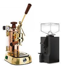 La Pavoni Professional Prg Espresso Coffee Machine Amp Eureka Mignon Manuale Combo