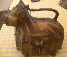 OLD ANTIQUE ANIMAL TREASURE/TRINKET BOX Holder