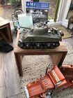 Tamiya 1:16 M4 Sherman Howitzer Tank R C Full Option DMD 56014 +Transmitter