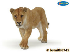 Papo LIONESS solid plastic toy wild zoo African animal cat predator lion NEW 💥