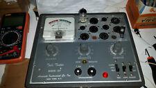 provavalvole tube tester accurate 157 model TUBETESTER full working Usa
