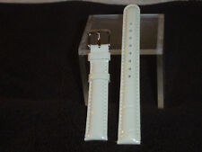 NWOT Invicta Patent Leather Watch Band (White)