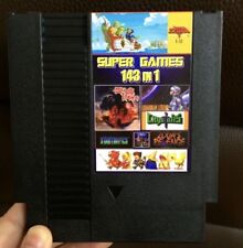Super Games 143 in 1 Nintendo NES Cartridge Multicart v1.01 153 in 1 - 100 Best