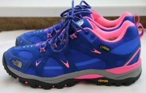 BNIB The North Face Hedgehog IV GTX Gore-Tex Blue Pink Hiking Shoes Trainers - 6