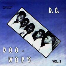 D.C. DOO - WOP'S - VOLUME 2 - EAGLE LABEL - GERMAN CD - 28 TRACKS - 1994