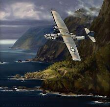 """Dumbo"" Jack Fellows PBY Catalina Artist Proof Giclee Print"