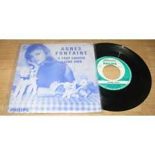 AGNES FONTAINE - Il Faut Choisir Rare French PS Promo 63'