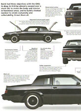 1987 Buick GNX Article - Must See !!
