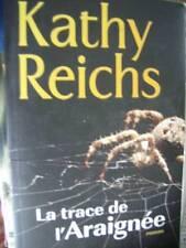Kathy Reichs La Trace De L'Araignee Roman Livre, Paperback 5.5x8.5 Inches Or 14x