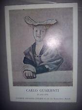 Peinture métaphysique: Exposition Carlo Guarienti, 1974, BE