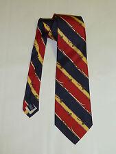 Ralph Laureen Polo Stripped Silk Twill Tie  ***Brand New***