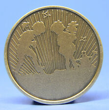 SOBRIETY BRONZE CHIP - MEDALLION - PLANTING THE SEEDS -  RECOVERY