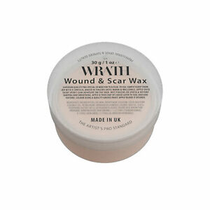 WRATH Wound & Scar Wax (Fair) - Professional Special FX Modelling Wax