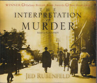 Jed Rubenfeld Interpretation Of Murder 5CD Audio Book Abridged Crime Thriller