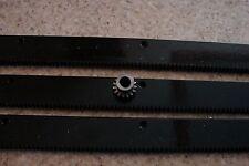 """CNC Stepper Motor  Mech Rack & Gear 72""""  Rack (3X24""""pcs) 3/8"""" 15T Pinion Gear"""