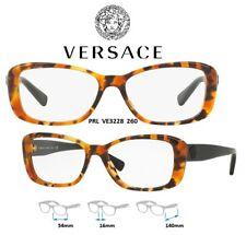 Versace VE3228 260 Eyeglass Frames Havana/Black 100% New/Authentic 54mm