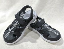 Columbia Boy's Techsun Wave Grey Outdoor Sandals - Size 2/3 NWB