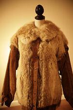 Vintage Coyote and Suede Jacket