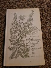 Heilpflanzen erkannt und angewandt Bässler, Friedrich A. BUCH