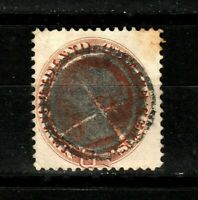 Newfoundland stamps #28, , used classic, heavy cancellation, CV $48