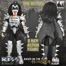"KISS  8"" Gene Simmons retro mego The Demon Monster series Loose polybag NEW!"