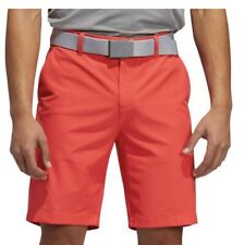 New Adidas Ultimate 365 Mens Solid Golf Shorts- Coral- Pick Size- Closeout