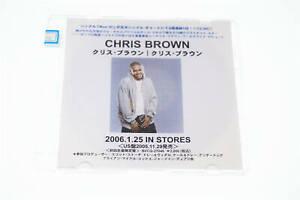 CHRIS BROWN PROMO CD-R CD A9392