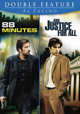 88 Minutes/And Justice for All (DVD, 2014, 2-Disc Set) Al Pacino  BRAND NEW