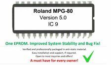 Roland MPG-80 - Version 5.0 Firmware Upgrade OS Update for MPG80 Controller