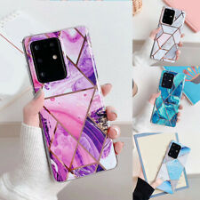 Case For Samsung Galaxy S20 5G S20+ Ultra ShockProof Marble Phone Cover Silicone