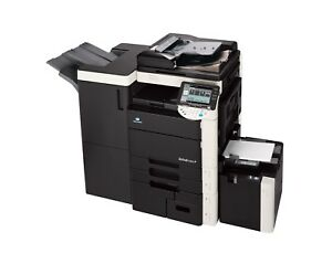 Konica Minolta Bizhub C650 Photocopier Printer Fax and Scan with Finisher