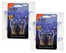 EIKO BAY15d 32/3CP S-8 12V 27/8W A-4829 FOUR BULB MINIATURE LIGHT REPLACE LAMP