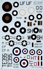 Iliad Design 1/48 Argent Supermarine Spitfire # 48007